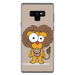 Funda Gel Tpu para Samsung Galaxy Note 9 Diseño Leon Dibujos