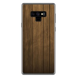 Funda Gel Tpu para Samsung Galaxy Note 9 Diseño Madera Dibujos