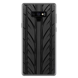 Funda Gel Tpu para Samsung Galaxy Note 9 Diseño Neumatico Dibujos