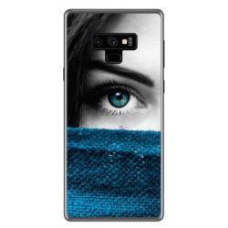 Funda Gel Tpu para Samsung Galaxy Note 9 Diseño Ojo Dibujos