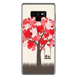 Funda Gel Tpu para Samsung Galaxy Note 9 Diseño Pajaritos Dibujos