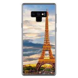 Funda Gel Tpu para Samsung Galaxy Note 9 Diseño Paris Dibujos