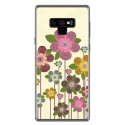 Funda Gel Tpu para Samsung Galaxy Note 9 Diseño Primavera En Flor Dibujos