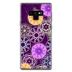 Funda Gel Tpu para Samsung Galaxy Note 9 Diseño Radial Dibujos