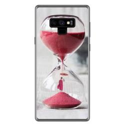 Funda Gel Tpu para Samsung Galaxy Note 9 Diseño Reloj Dibujos