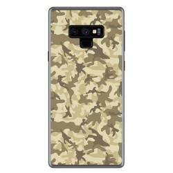 Funda Gel Tpu para Samsung Galaxy Note 9 Diseño Sand Camuflaje Dibujos