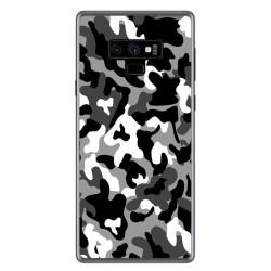 Funda Gel Tpu para Samsung Galaxy Note 9 Diseño Snow Camuflaje Dibujos