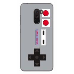 Funda Gel Tpu para Xiaomi Pocophone F1 Diseño Consola Dibujos