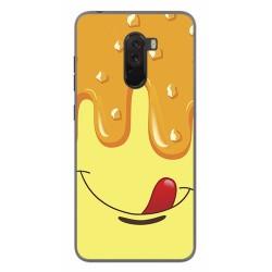 Funda Gel Tpu para Xiaomi Pocophone F1 Diseño Helado Vainilla Dibujos