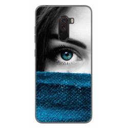 Funda Gel Tpu para Xiaomi Pocophone F1 Diseño Ojo Dibujos