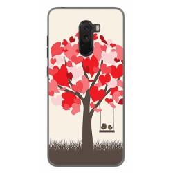 Funda Gel Tpu para Xiaomi Pocophone F1 Diseño Pajaritos Dibujos