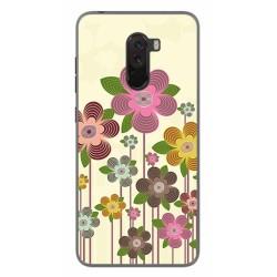 Funda Gel Tpu para Xiaomi Pocophone F1 Diseño Primavera En Flor Dibujos