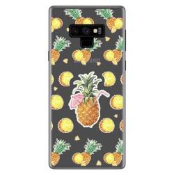 Funda Gel Transparente para Samsung Galaxy Note 9 Diseño Piña Dibujos