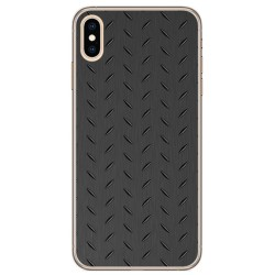 Funda Gel Tpu para Iphone XS Max Diseño Metal Dibujos
