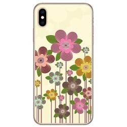 Funda Gel Tpu para Iphone XS Max Diseño Primavera En Flor Dibujos