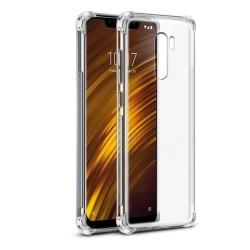 Funda Gel Tpu Anti-Shock Transparente para Xiaomi Pocophone F1