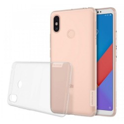 Funda Gel Tpu Nillkin Nature para Xiaomi Mi Max 3 Color Transparente