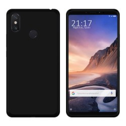 Funda Gel Tpu para Xiaomi Mi Max 3 Color Negra