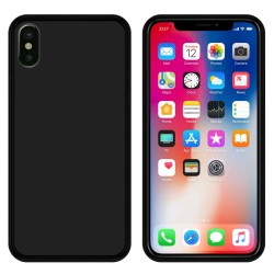 Funda Gel Tpu para Iphone X / XS Color Negra