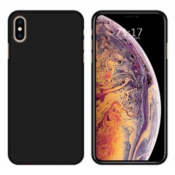 Funda Gel Tpu para Iphone XS Max Color Negra