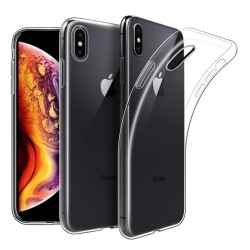 Funda Gel Tpu Fina Ultra-Thin 0,5mm Transparente para Iphone XS Max