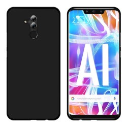 Funda Gel Tpu para Huawei Mate 20 Lite Color Negra