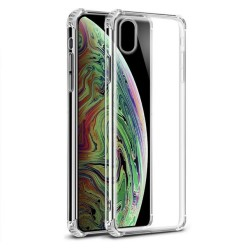 Funda Gel Tpu Anti-Shock Transparente para Iphone XS Max