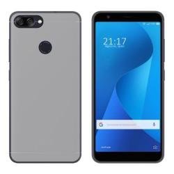 Funda Gel Tpu para Asus Zenfone Max Plus M1 Color Transparente
