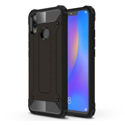 Funda Tipo Hybrid Tough Armor (Pc+Tpu) Negra para Huawei P Smart Plus
