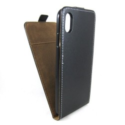 Funda Piel Premium Negra Ultra-Slim para Iphone Xr
