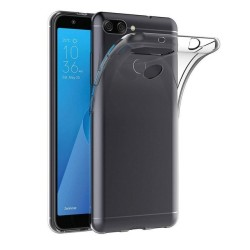 Funda Gel Tpu Fina Ultra-Thin 0,5mm Transparente para Asus Zenfone Max Plus M1