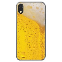 Funda Gel Tpu para Iphone XR Diseño Cerveza Dibujos