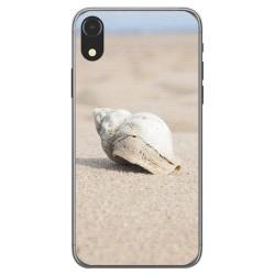 Funda Gel Tpu para Iphone XR Diseño Concha Dibujos