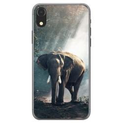 Funda Gel Tpu para Iphone XR Diseño Elefante Dibujos