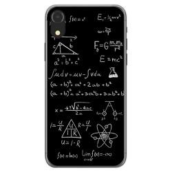 Funda Gel Tpu para Iphone XR Diseño Formulas Dibujos