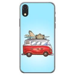 Funda Gel Tpu para Iphone XR Diseño Furgoneta Dibujos