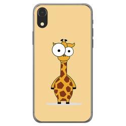 Funda Gel Tpu para Iphone XR Diseño Jirafa Dibujos