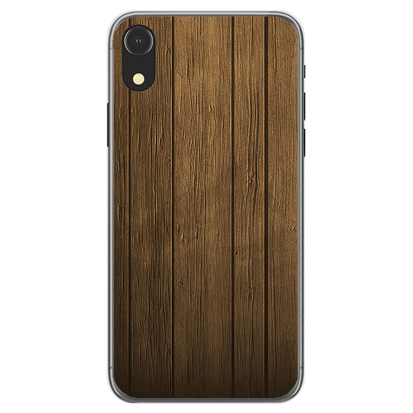 funda iphone xr madera