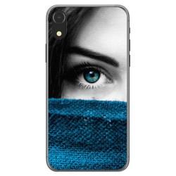 Funda Gel Tpu para Iphone XR Diseño Ojo Dibujos
