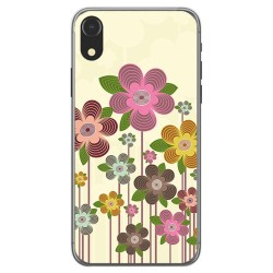 Funda Gel Tpu para Iphone XR Diseño Primavera En Flor Dibujos