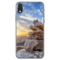 Funda Gel Tpu para Iphone XR Diseño Sunset Dibujos
