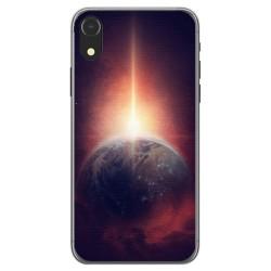 Funda Gel Tpu para Iphone XR Diseño Tierra Dibujos