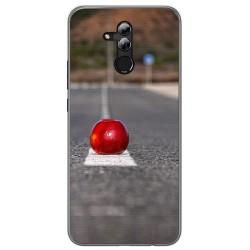 Funda Gel Tpu para Huawei Mate 20 Lite Diseño Apple Dibujos