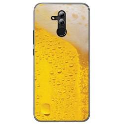 Funda Gel Tpu para Huawei Mate 20 Lite Diseño Cerveza Dibujos