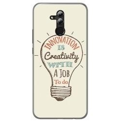 Funda Gel Tpu para Huawei Mate 20 Lite Diseño Creativity Dibujos