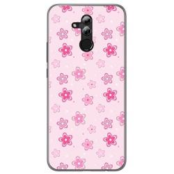 Funda Gel Tpu para Huawei Mate 20 Lite Diseño Flores Dibujos