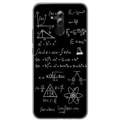 Funda Gel Tpu para Huawei Mate 20 Lite Diseño Formulas Dibujos