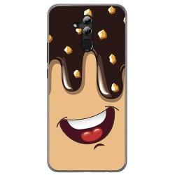 Funda Gel Tpu para Huawei Mate 20 Lite Diseño Helado Chocolate Dibujos