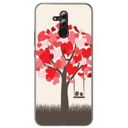 Funda Gel Tpu para Huawei Mate 20 Lite Diseño Pajaritos Dibujos