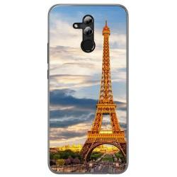 Funda Gel Tpu para Huawei Mate 20 Lite Diseño Paris Dibujos